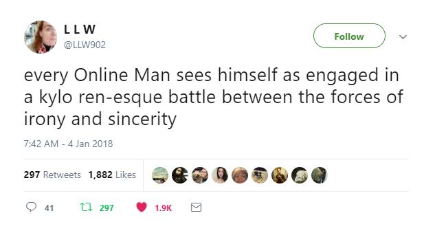 kylo ren battle tweet