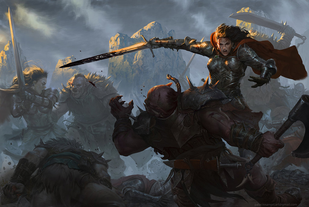 warrior_women_by_angel5art-dbkffax