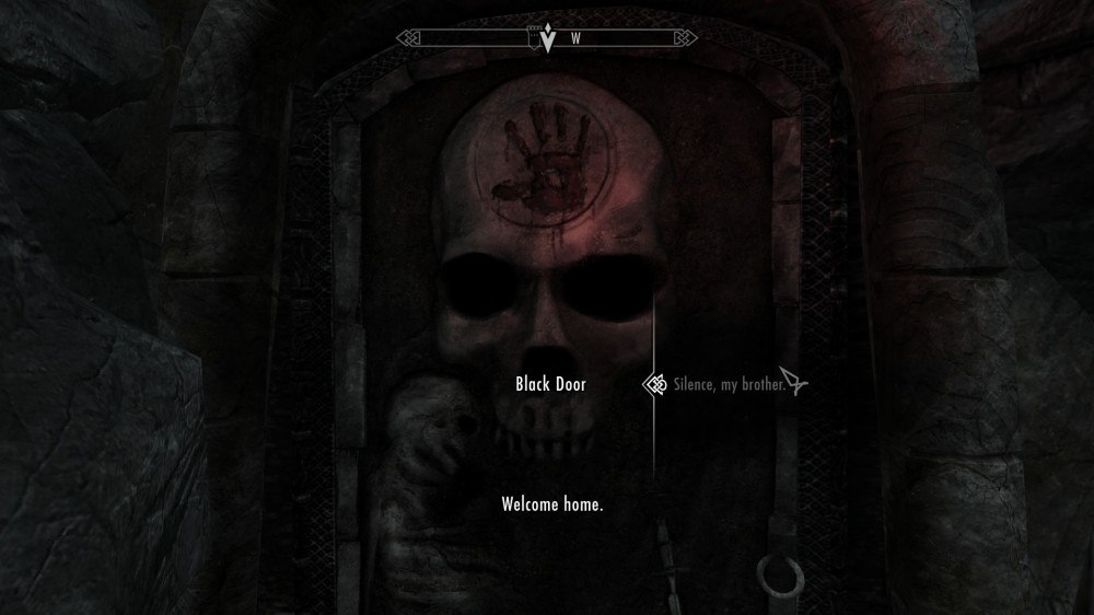 dark brotherhood door