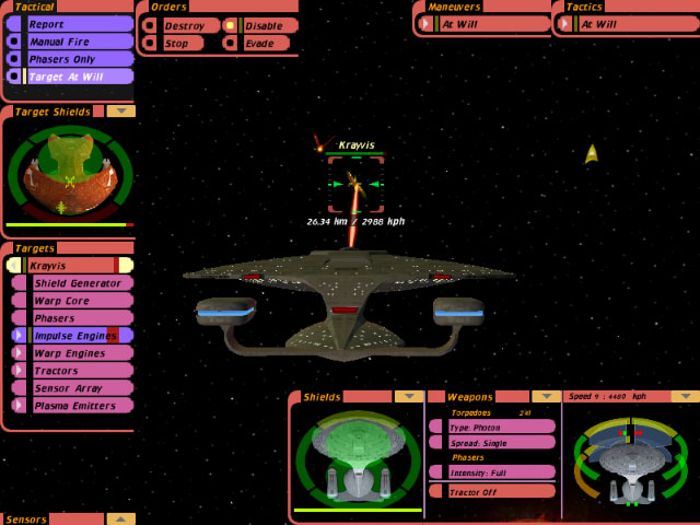 Image result for star trek bridge commander