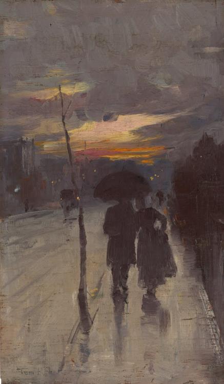 Going home - Tom Roberts art